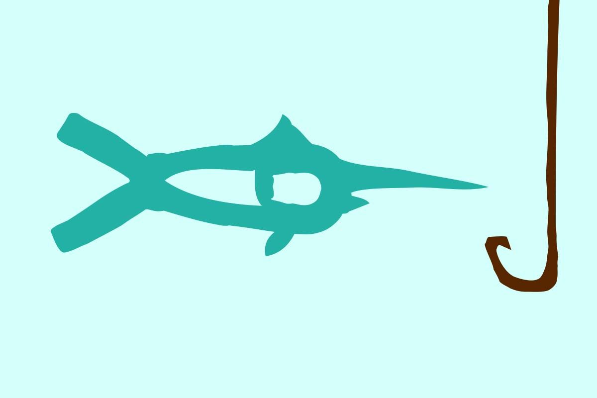 """The """"Billfish Grill"""" restaurant logo. The restaurant is located in Palm Cay, Nassau, The Bahamas."""