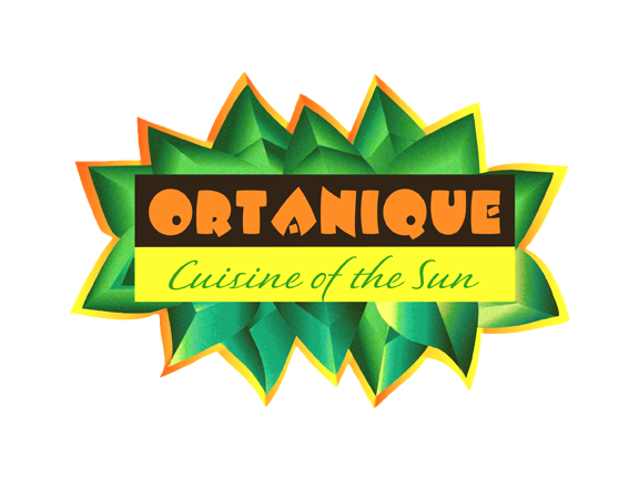 Logo updated done during the restaurant website design for Ortanique, Cuisine of the Sun.